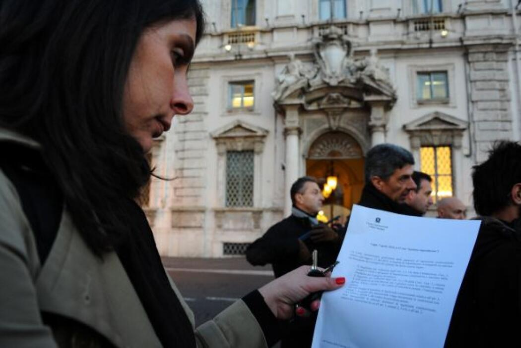 La prensa recibió información filtrada en la que se dice que los documen...