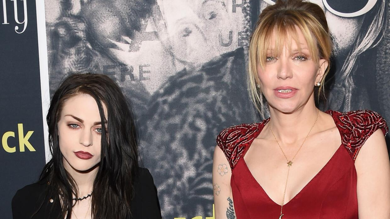 Frances Bean y Courtney Love