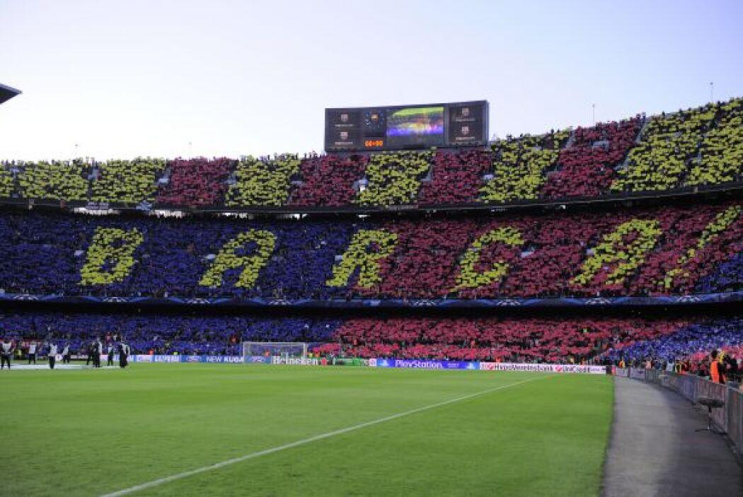 El estadio Camp Nou de Barcelona quería presenciar una remontada para la...