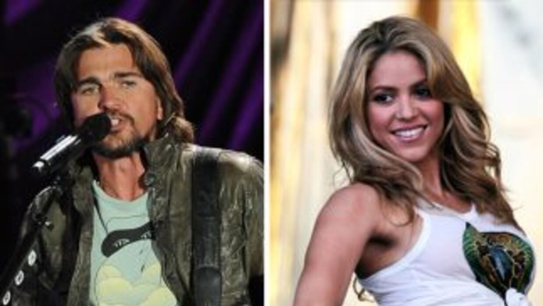 Juanes dijo que ha trabajado con grandes cantantes como Laura Pausini y...