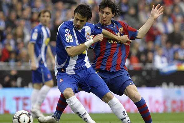 El duelo más esperado fue el 'Derby'catalán entre el Espanyol y el Barce...