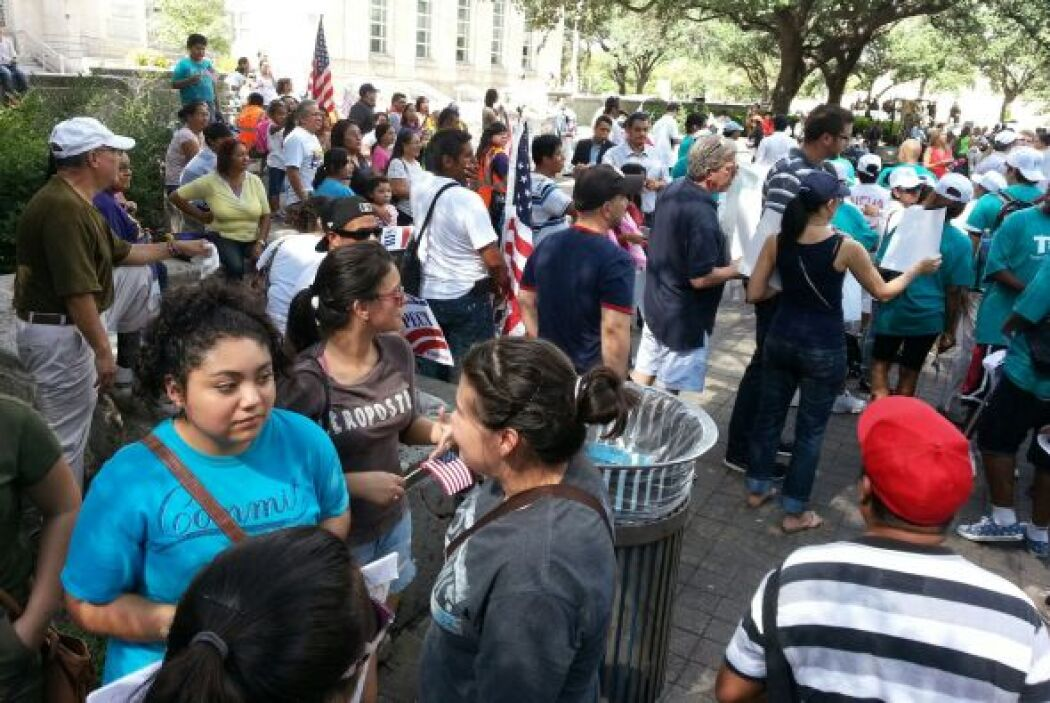 Marcha por la digindad Houston