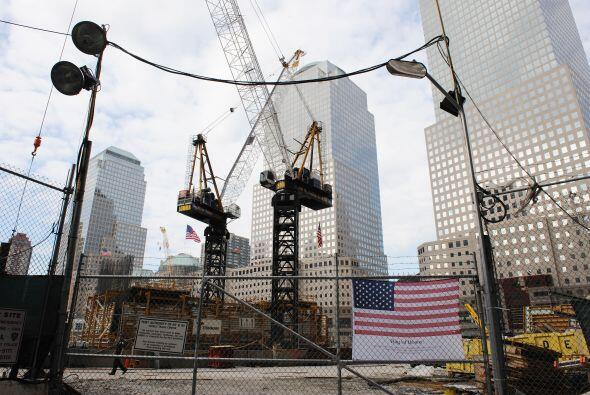 En un punto muerto se encuentra la construcción del One World Trade Center.