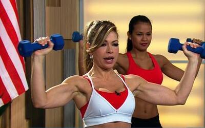 Logra tener los brazos atléticos de Michelle Obama con Claudia Molina