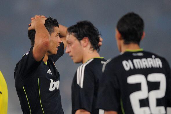 Acabó el partido y aunque Cristiano Ronaldo mandó el bal&o...