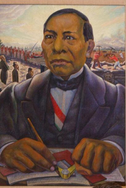 El presidente de la época, Benito Juárez (1858-1872), pidi...