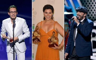 Los más nominados en la historia de Premio Lo Nuestro