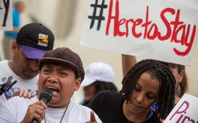 """""""El miedo entre los inmigrantes es real. Pero la resistencia tambi&eacut..."""