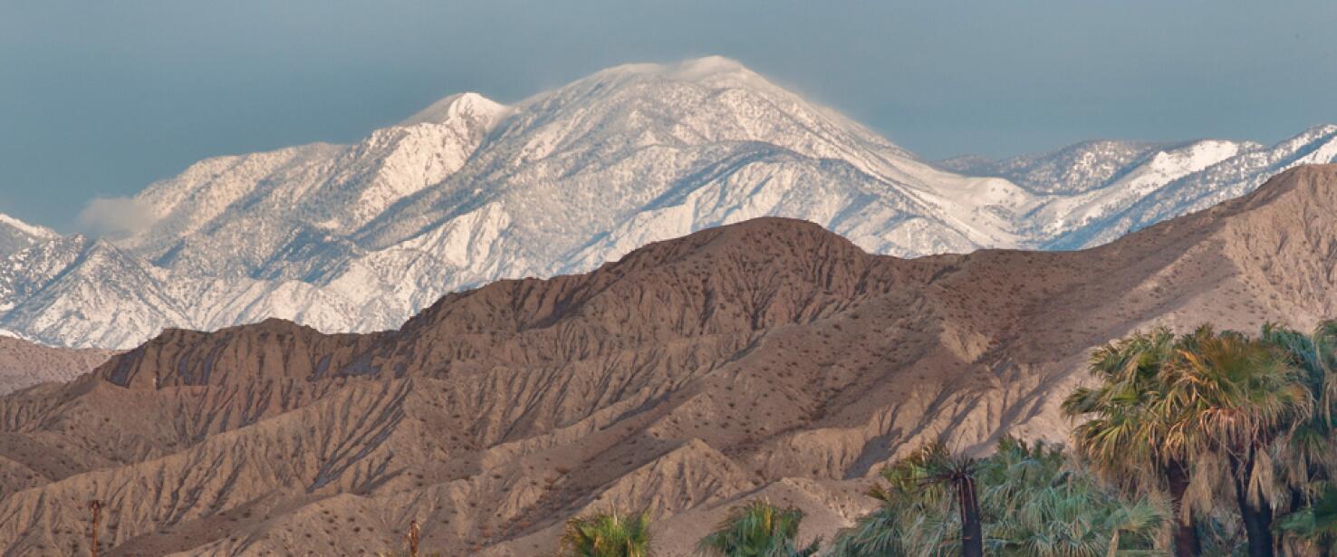 Monumento Nacional Sand to Snow, en California