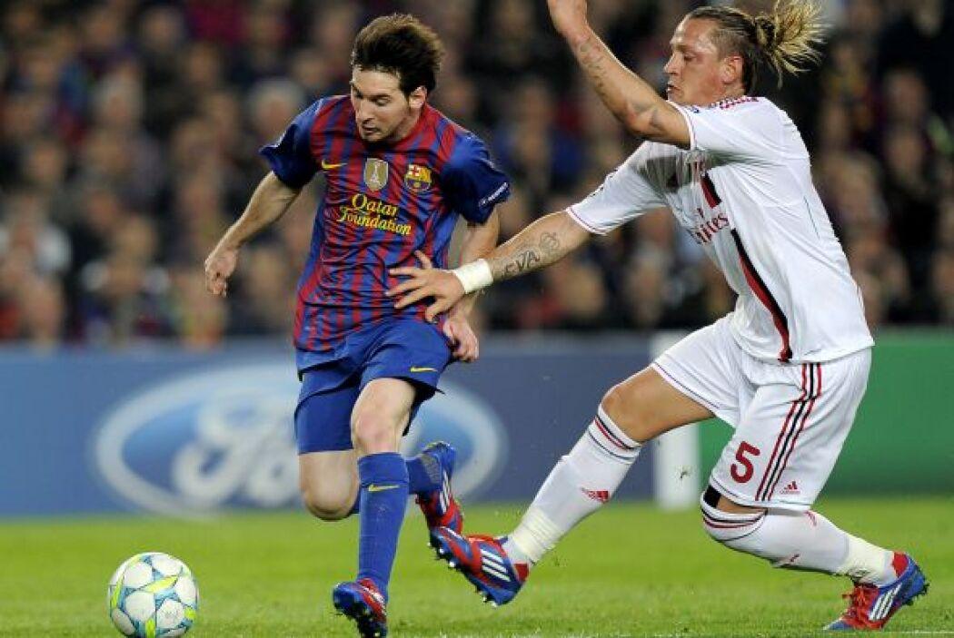 El Milán, con siete títulos en su palmarés, y el Barcelona, con cuatro,...