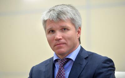 Pavel Kolobkov, ministro de deportes de Rusia.