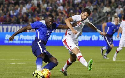 Jozy Altidore hizo el gol de la victoria.