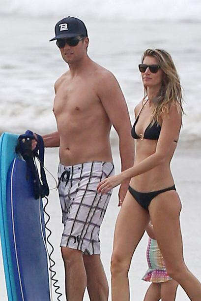 Gisele y Tom se la pasan de maravilla en Costa Rica.