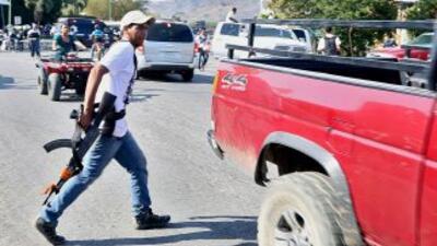 Civil armado en Michoacán. (Imagen de archivo)