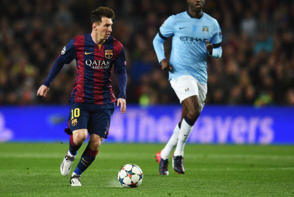 El cuadro azulgrana tuvo un rival difícil en el Manchester City q...