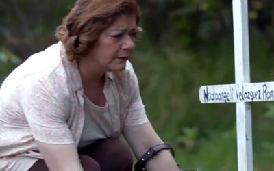 Testigo Silenciada parte 5: Frente a su tumba, una madre le hace una pro...