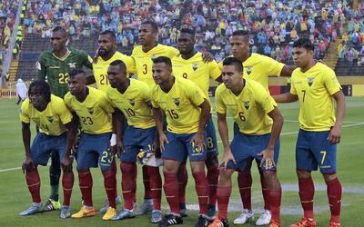 Ecuador da a conocer lista para Copa América