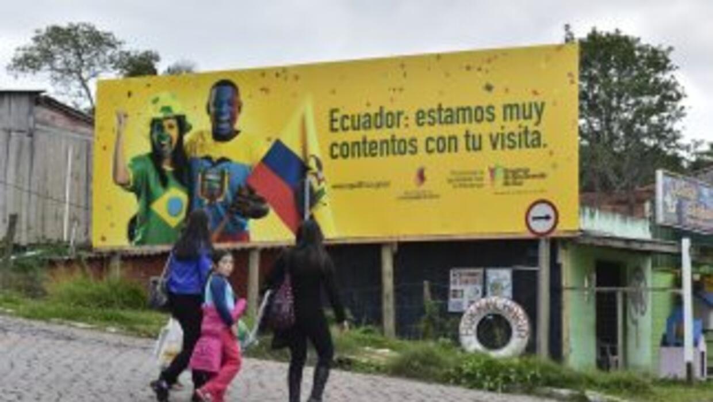 Ecuador ya llegó a Brasil.