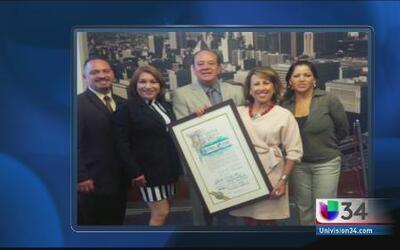 ¡Felicidades a Norma Roque de Univision!