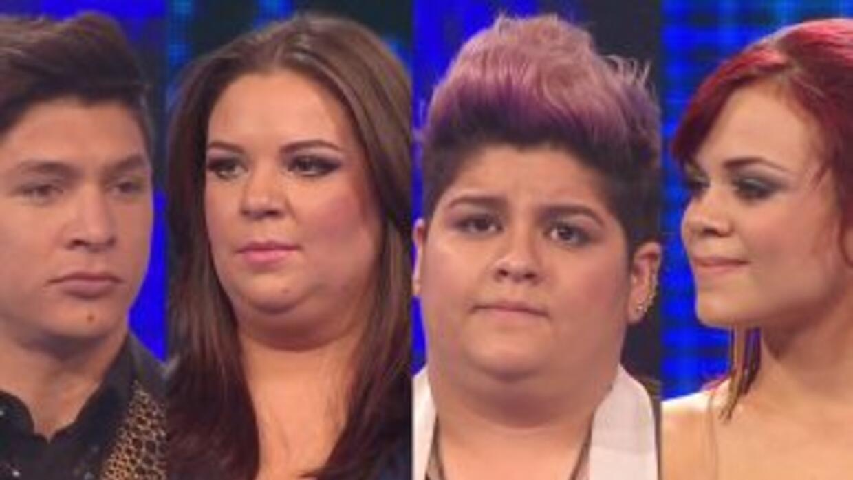 Danny, Yazaira, Stephanie y Ana Cristina están sentenciados