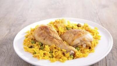 Un clásico de la cocina latina, el arroz con pollo es el plato favorito...
