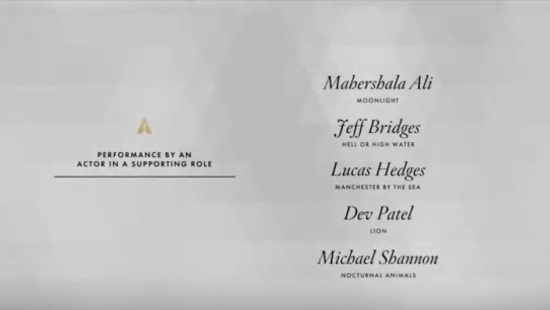 Oscars/ Nominados actor de reparto