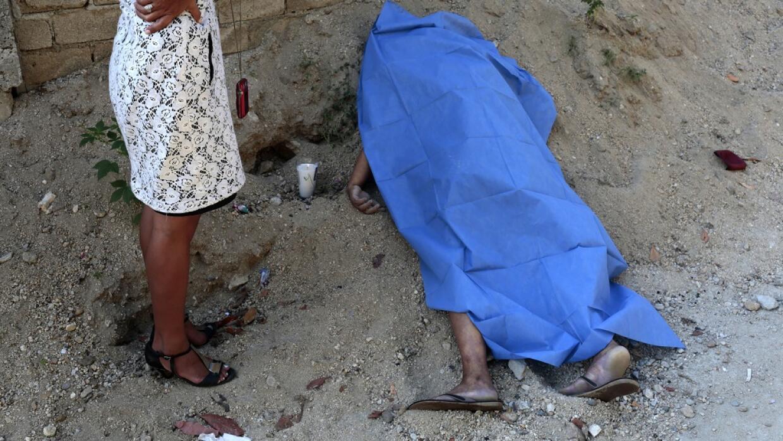 Mujer asesinada en Acapulco (Guerrero) en diciembre de 2015
