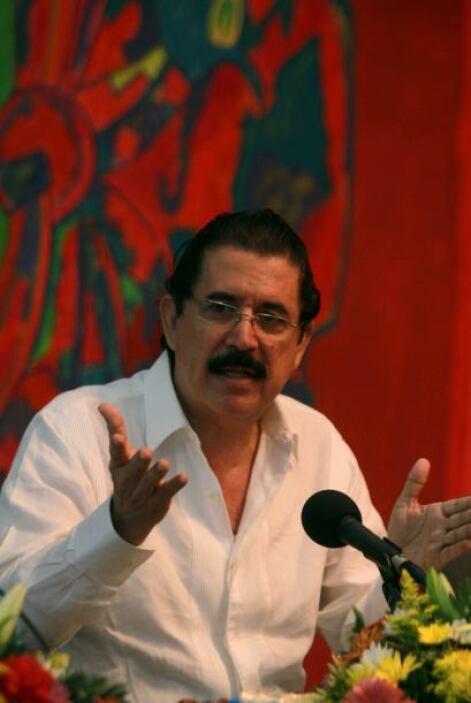 El presidente hondureño enfatizó que la crisis en Honduras a raíz del de...