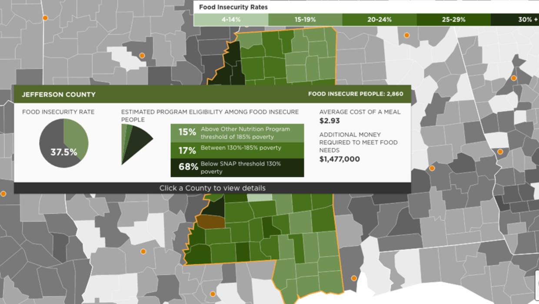 En el condado de Jefferson, un 37.5% de la población ha experimentado e...