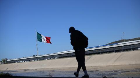 El Instituto Nacional de Migración de México calcula que solo en enero d...
