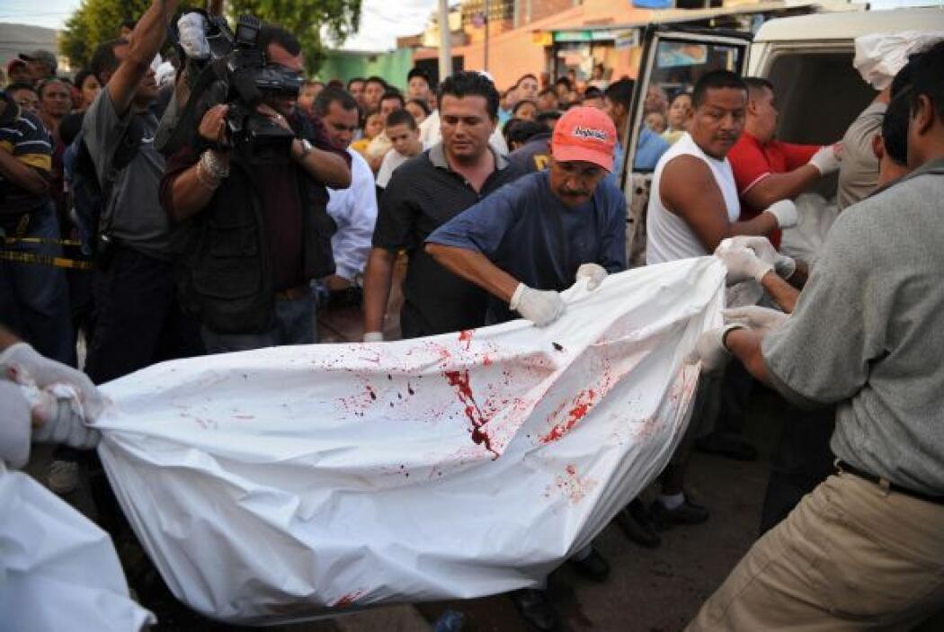 El promedio mundial de homicidios es de 8 por cada 100 mil habitantes.
