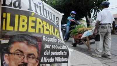 Diversos sectores claman por la liberación del periodista hondureño Alfr...