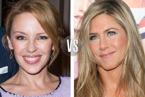 Kylie Minogue y Jennifer Aniston están en la mitad de los cuarent...