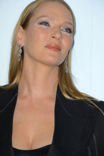 En años pasado, la actriz sí sonreía y su rostro mo...