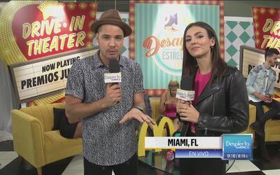 Victoria Justice está por descubrir de qué se trata el reggaeton