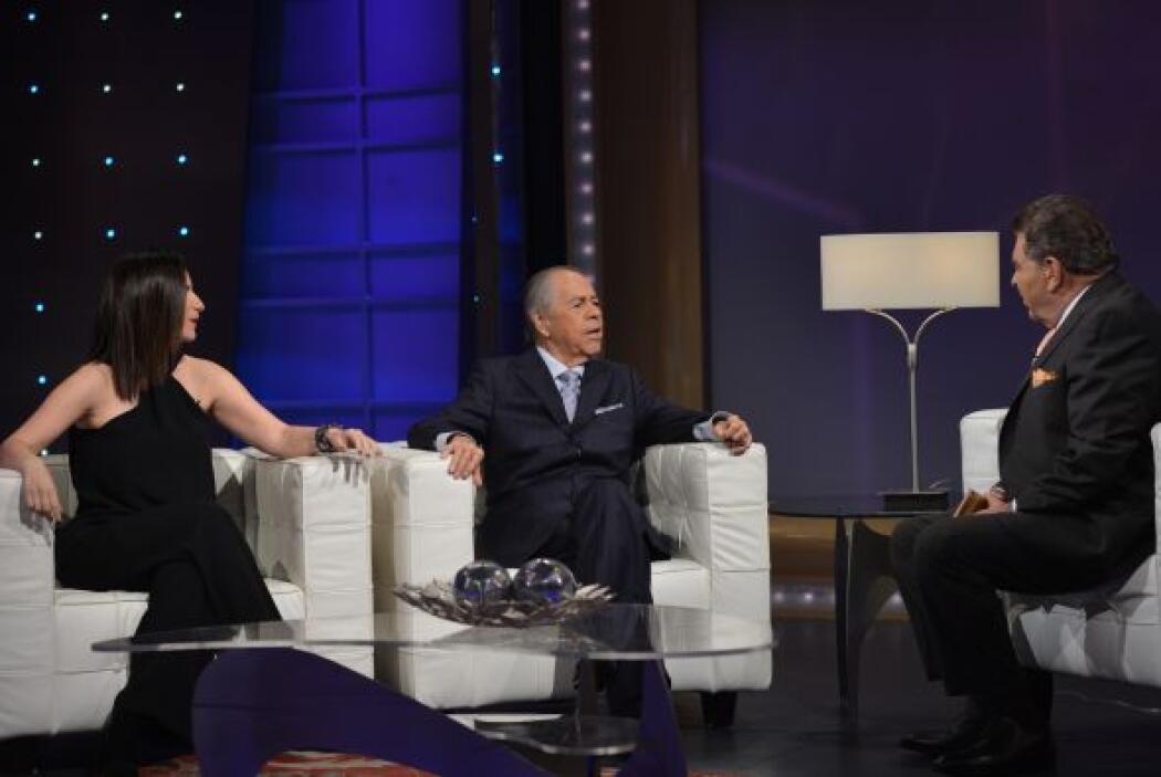 Lucho Gatica y Laura Pausini visitaron el show. El cantante chileno y la...