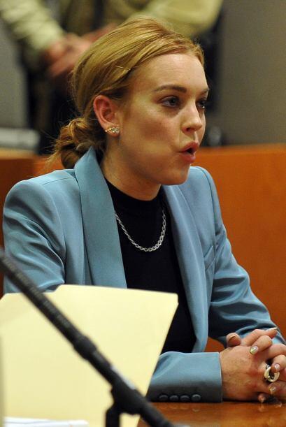Una noticia buena y otra mala para LiLo. En marzo 29 del 2012, la juez l...