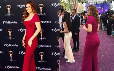 Luz Elena González luce mejor cuando tiene menos tiempo de elegir su ves...