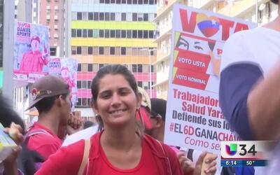 Venezuela a días de las elecciones