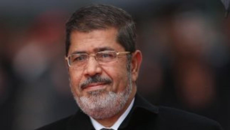 El expresidete de Aegipto Mohamed Mursi.