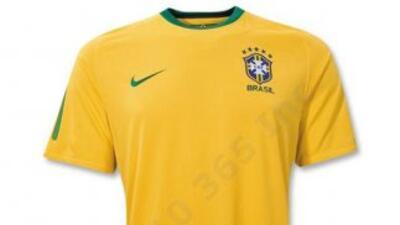 Brasil 10/11 Jersey de Futbol Local