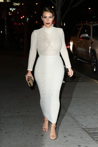 No todos los 'outfits'  que usó Kim Kardashian fueron los mejores...