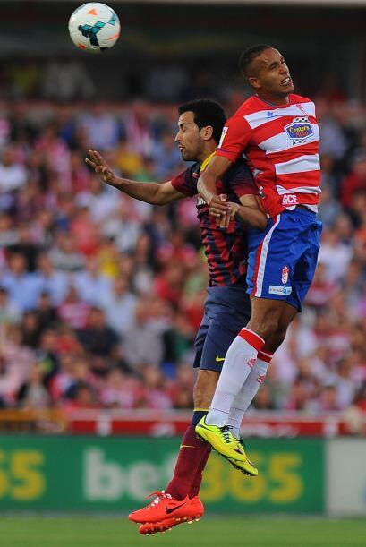 Granada hizo su partido, permitiendo a Barcelona la posesión del...