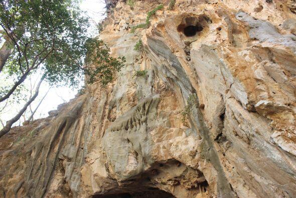 Este lugar es llamado La Cueva del Diablo.