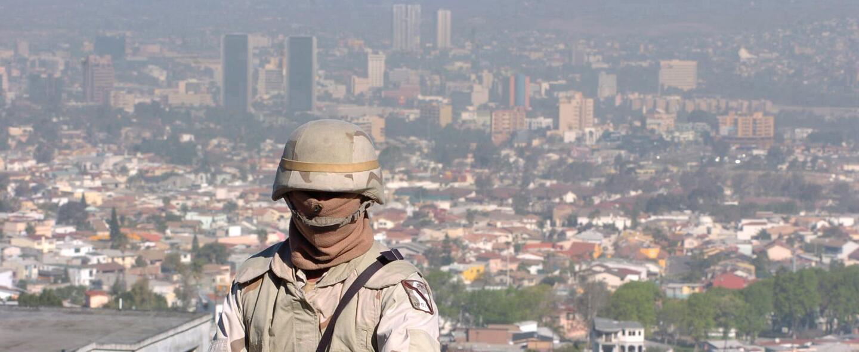 La guerra por las drogas que se vive en Tijuana.