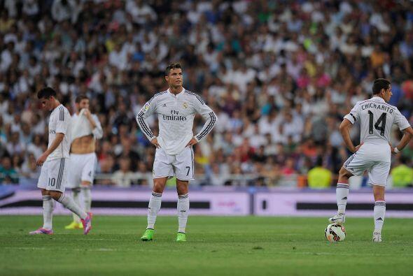 El Real Madrid sufrió su primera derrota de la temporada en el Be...