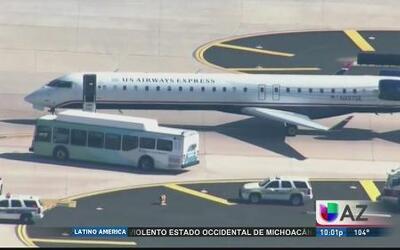 Tres sustos en al aeropuerto de Phoenix