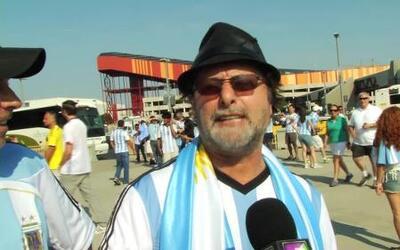 Aficionado argentino le compuso una canción a Lionel Messi