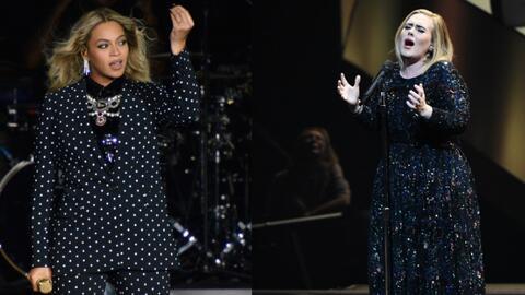 Beyoncé (con 'Lemonade') y Adele ('25') se pelean el Grammy al me...