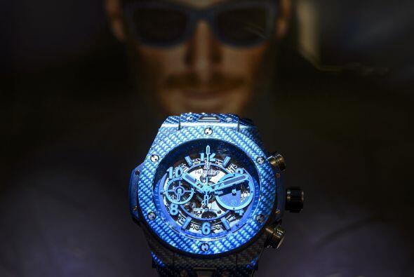La marca Hublot presentó su nuevo reloj Big Bang en colaboración con Tex...